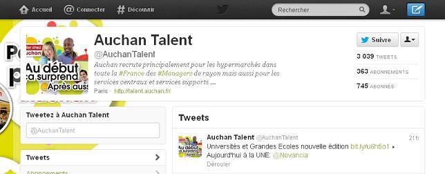 Auchan Talent