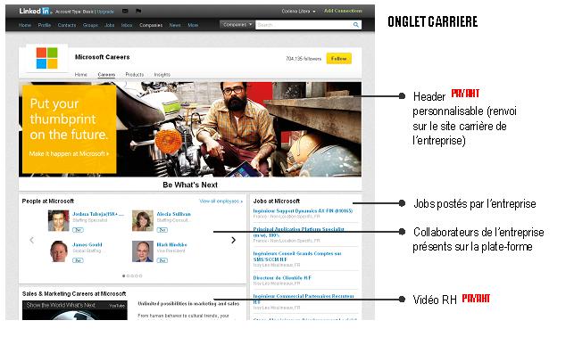 LinkedIn page entreprise - 2