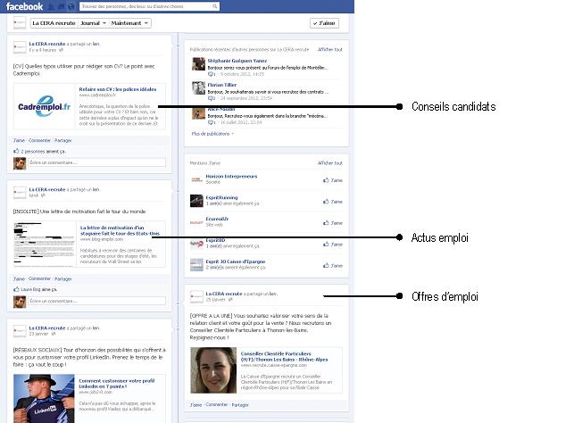 page Facebook CERA - 2